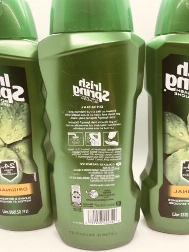 Irish Spring Men's Body Wash 18oz 24 Hour Freshness