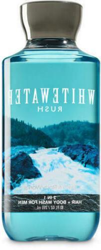 MEN'S Whitewater Rush ~10 oz~ 2-in-1 Hair & Body Wash Bath &