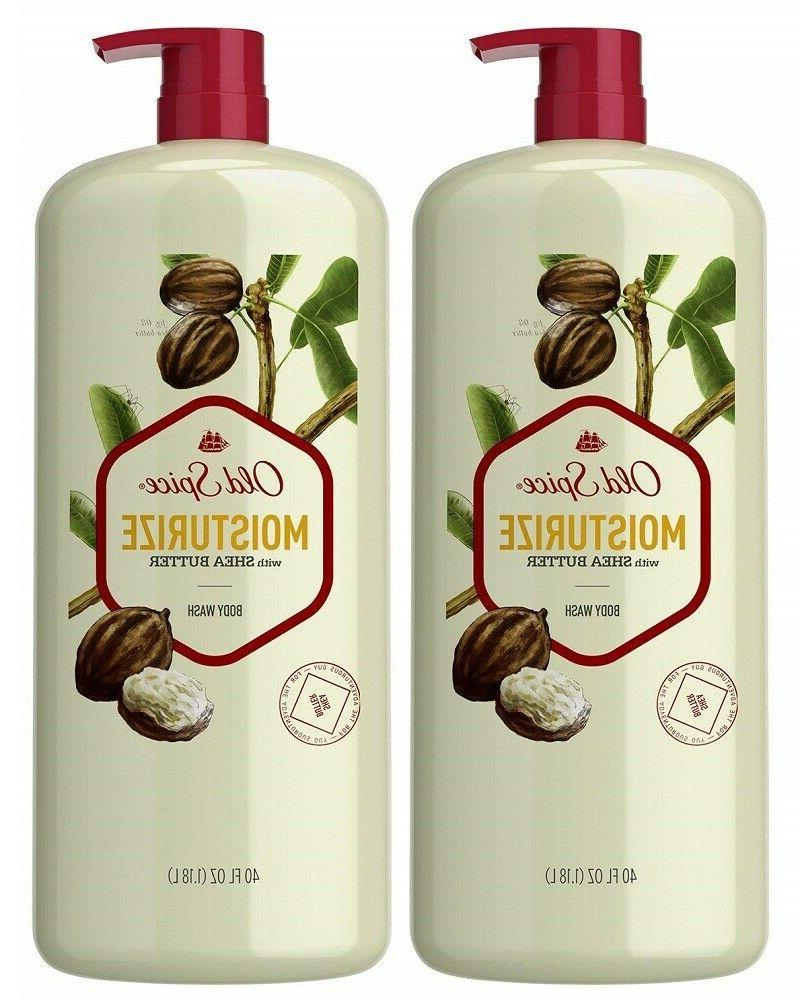 Old Spice Moisturize Shea - with