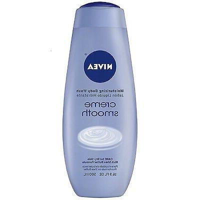 NIVEA Moisturizing Body Wash, Creme Smooth 16.90 oz