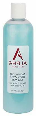 Alpha Skin Care Moisturizing Body Wash   Anti-Aging Formula