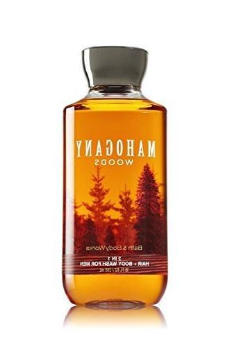 nib mahogany woods hair wash