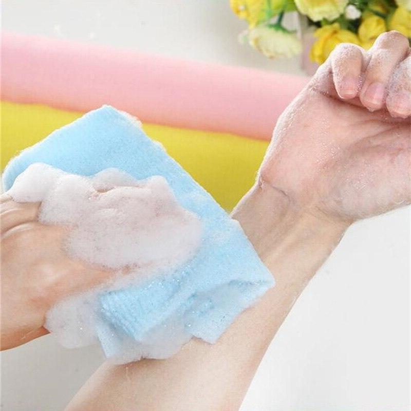 Nylon <font><b>Wash</b></font> Towel Skin Exfoliating Washing щетка