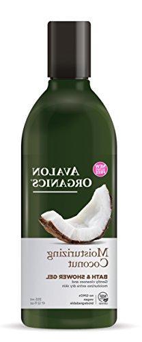 Avalon Organics Moisturizing Coconut Bath & Shower Gel, 12 o