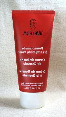 Weleda Pomegranate Creamy Body Wash 200ml/6.8oz