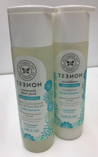 The Honest Company Purely Simple Shampoo and Body Wash, Frag