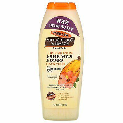 Palmers Cocoa Butter Body Wash Raw Shea Cocoa 17 Ounce