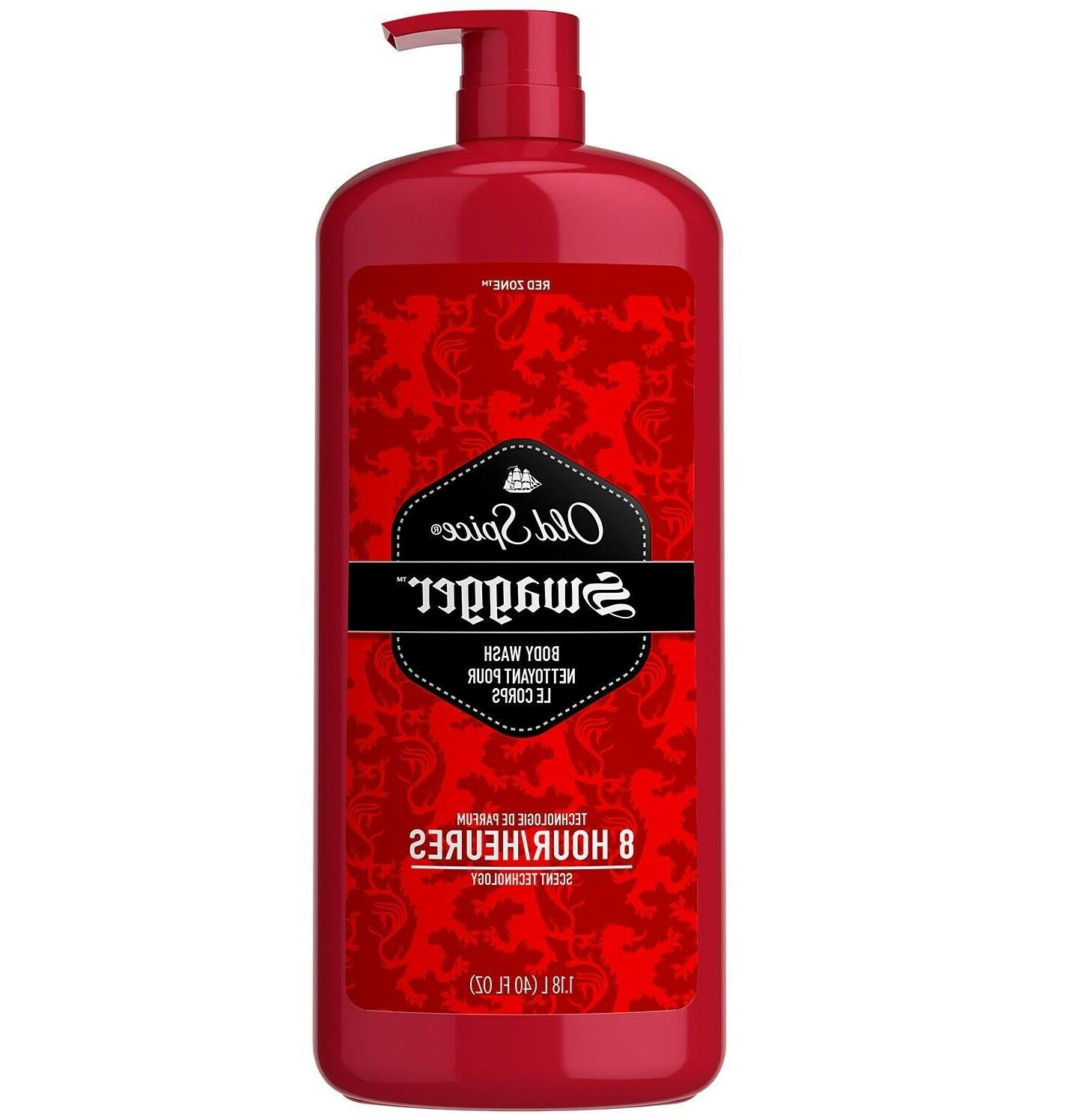 red zone mens body wash swagger 40
