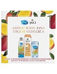 Secret & Olay Mango Boost Special Pack Gift Set, 3 pc