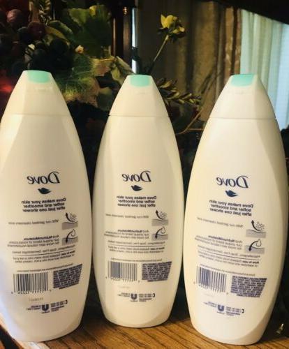 Dove Sensitive Skin Body Wash 22 650 ml PACK OF 3