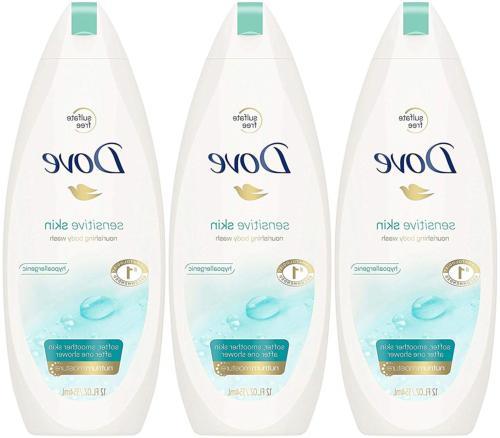sensitive skin nourishing body wash 12 fluid