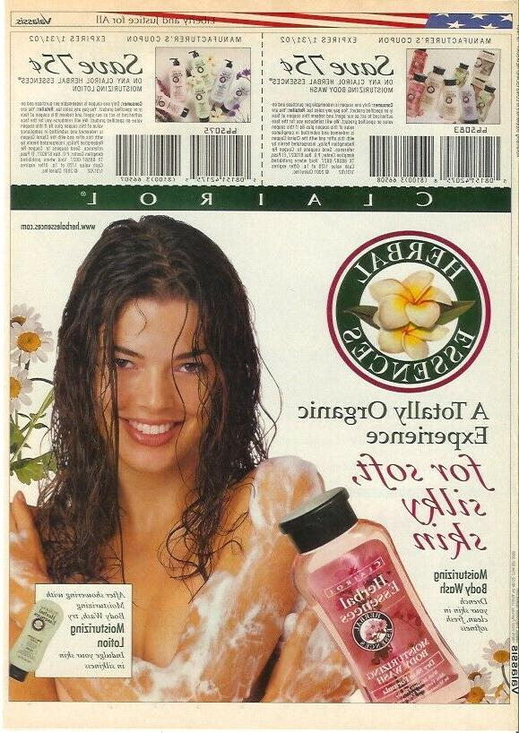 sexy wet denise richards vintage print ad