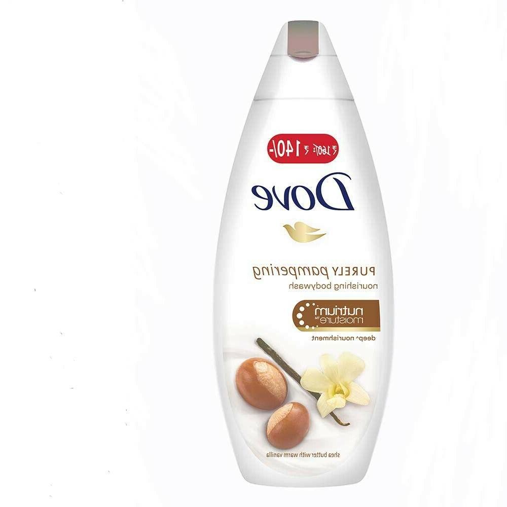 Dove Body Wash Shea Butter And Warm Vanilla Body Wash