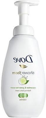 Dove Shower Foam, Cucumber & Green Tea Scent, 13.5 oz