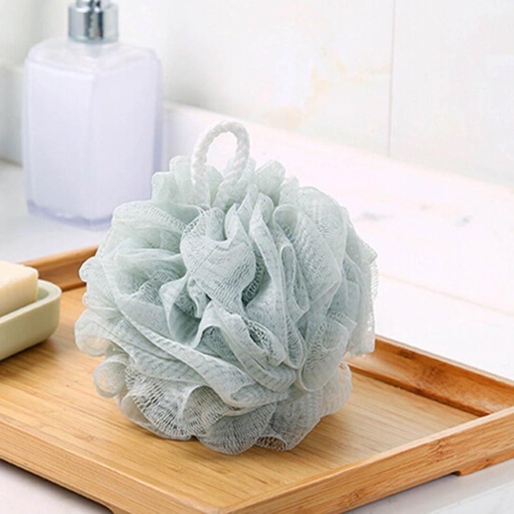 Solid Soft <font><b>Body</b></font> <font><b>Wash</b></font> Bath Large Mesh Bath Shower