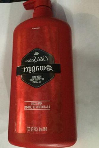 OLD SPICE SWAGGER 32 FL OZ BODY WASH MAN SIZED