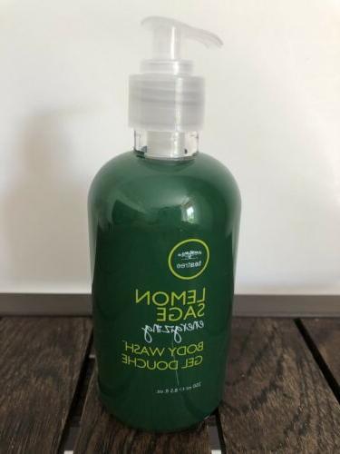 tea tree lemon sage energizing body wash