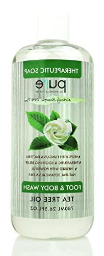 Pure Tea Tree Body Wash Tea Tree Oil Soap, Best Tea Tree Was