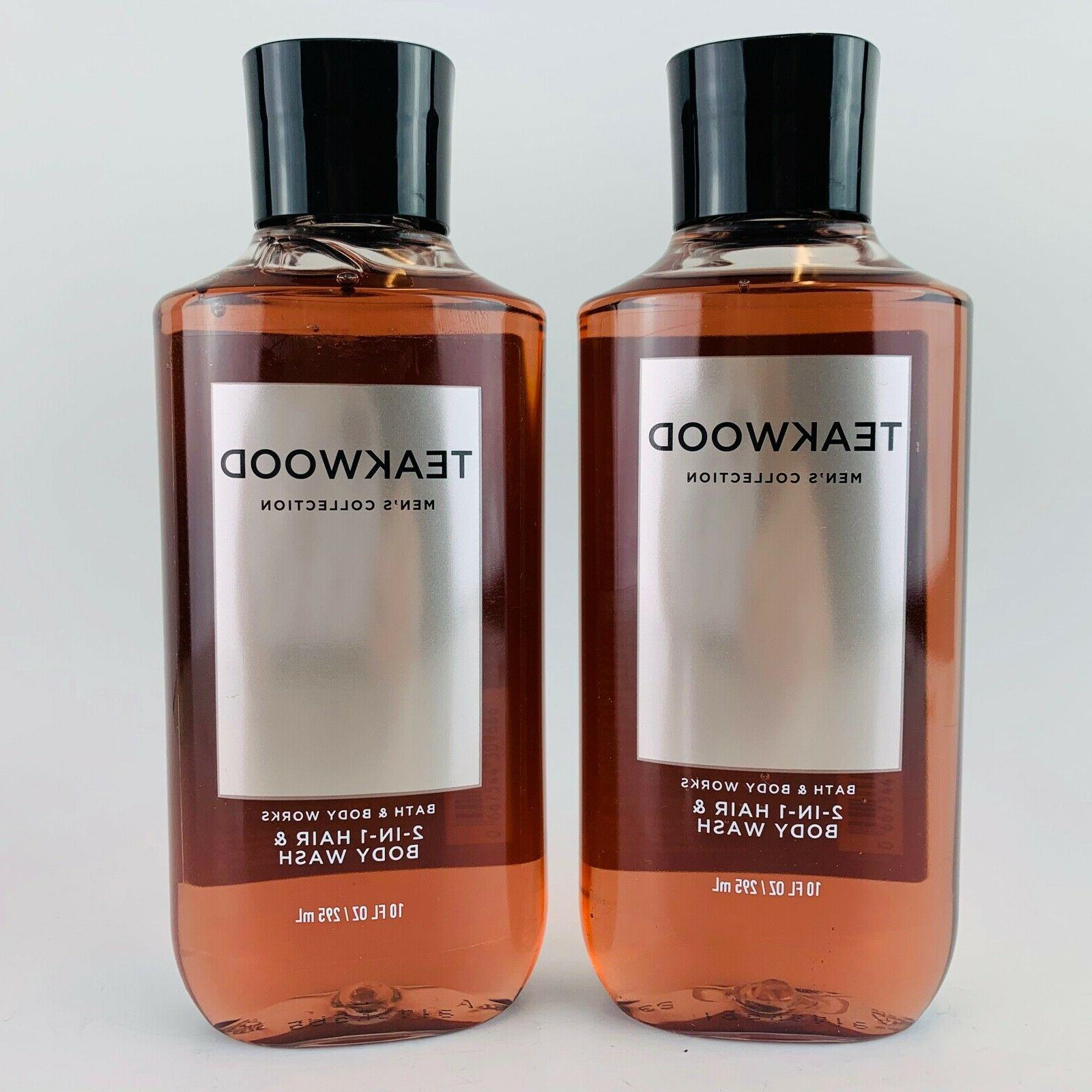 teakwood hair wash