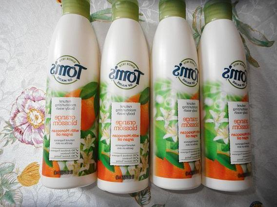 tom s natural moisturizing body wash orange