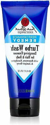 Jack Black Turbo Wash Energizing Cleanser for Hair and Body,