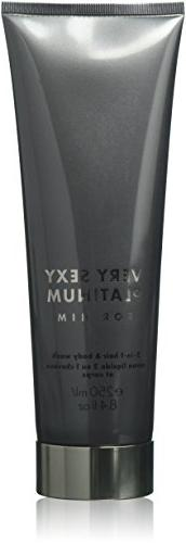Victorias Secret Very Sexy Platinum for Him 2-in1 Hair & Bod