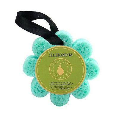 Spongelle Wild Flower 14+ Uses Bath Mitts and Cloths, Coconu