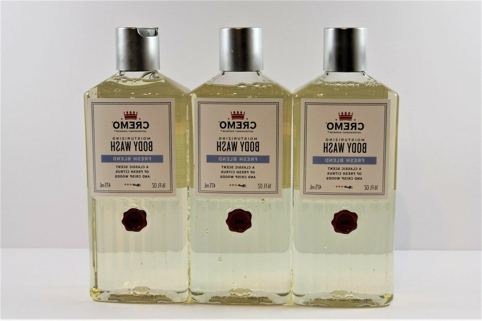 x3 moisturizing body wash fresh blend 16