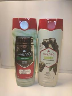 Old Spice Live Wire Hydrating + Timber with sandalwood Body