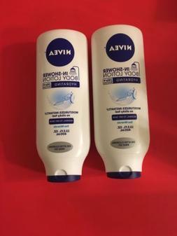 Lot-2 - NIVEA In-Shower Hydrating Body Lotion 13.5 Fluid Oun