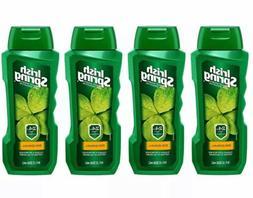 LOT 4 Irish SPRING ORIGINAL BODY WASH GEL For Men 18 FL OZ