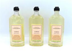 Lot of 3 Bath and Body Works Aromatherapy Bergamot Coriander