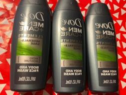 Lot of 3 Dove Men + Care Minerals + Sage Body and Face Wash