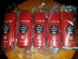 LOT of 5 Brand New Old Spice Red Collection Swagger Body Was