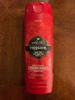 Lot Of 5 Mens Old Spice Red Zone Swagger Body Wash 16 fl oz