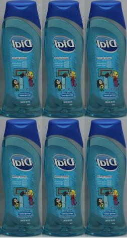 LOT OF 6 DIAL SPRING WATER BODY WASH WITH MOISTURIZERS 21 OZ