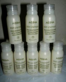 LOT of 8 Aveda Rosemary Mint Hand and Body Wash Made in USA