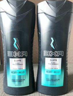 Axe Men Body Wash 16 fl oz Apollo Sage & Cedarwood Scent - L