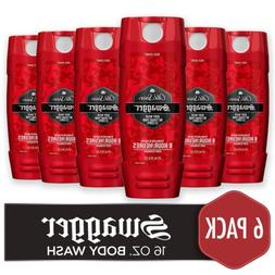 Old Spice Men's Body Wash, Swagger Scent, Red Collection 16