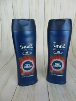 Suave Men Sport Recharge Body Wash 12oz Lot of 2