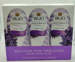 Olay Moisture Ribbons Plus Shea + Lavender Oil Body Wash