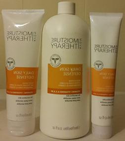 MOISTURE THERAPY Daily Skin Defense Vitamin 3-Piece Body Col