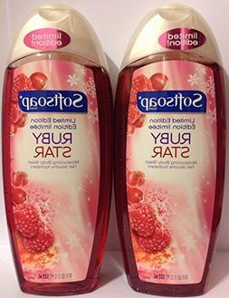Softsoap Moisturizing Body Wash - Limited Edition - Ruby Sta