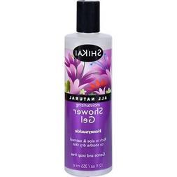 Shikai All Natural Moisturizing Shower Gel Honeysuckle - 12