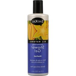 Shikai All Natural Moisturizing Shower Gel Starfruit - 12 fl