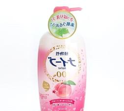 Kracie Naive Body Wash Soap Peach leaf extract combination 5