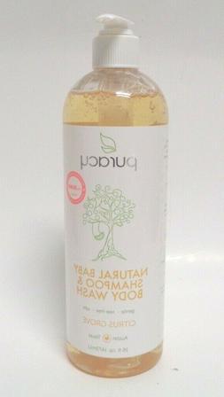 Puracy Natural Baby Shampoo & Body Wash, Tear-Free Soap, Sul