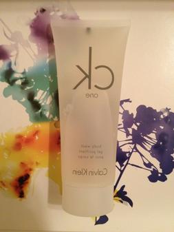 NEW Calvin Klein CK ONE Shower Gel BODY WASH 3.4 oz Unisex
