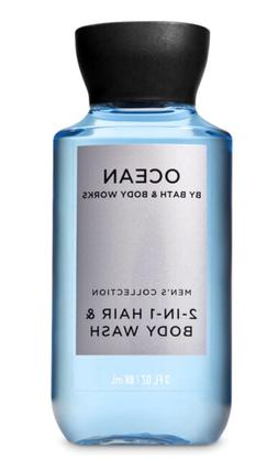 *New* MEN'S OCEAN ~Travel 2in1 Hair & Body Wash ~ Bath & Bod