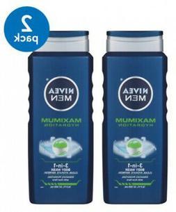 NIVEA Men Maximum Hydration 3 In 1 Body Wash 16.9 Fl. Oz.